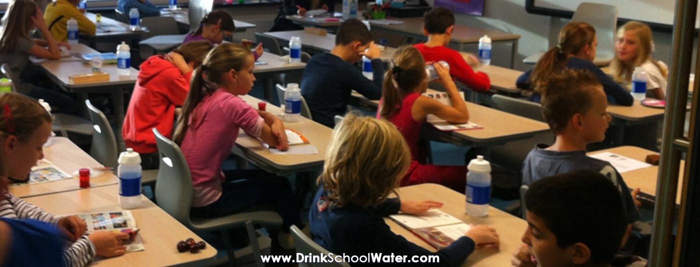 DrinkSchoolWater - Het DrinkWater programma voor het basisonderwijs