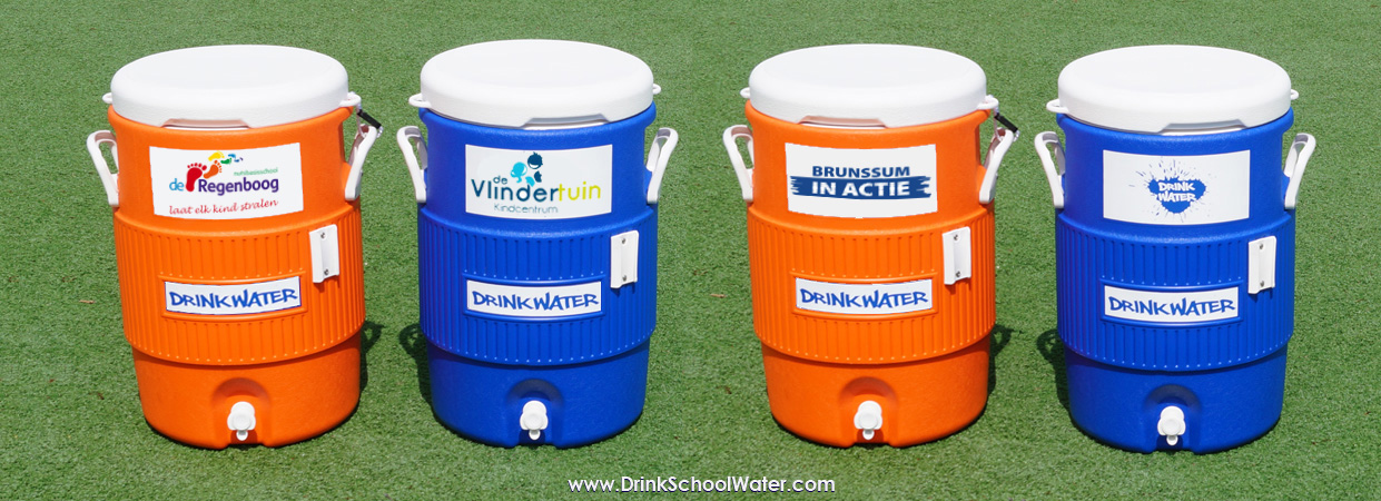 DrinkSchoolWater Waterkoeler - waterton 19 liter