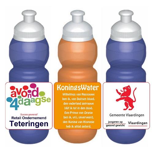 DrinkSchoolWater - bidons 330ml met eigen label
